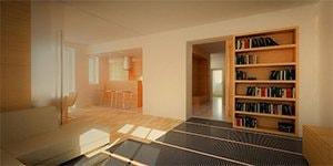 Podlahové topné fólie