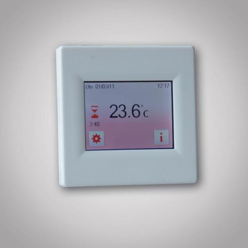 Dotykový termostat TFT