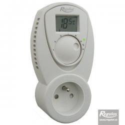 Zásuvkový termostat TZ 33 manuální s displejem