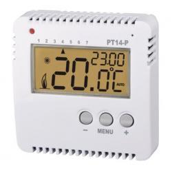 Termostat prostorový digitální programovatelný PT14-P obr.2