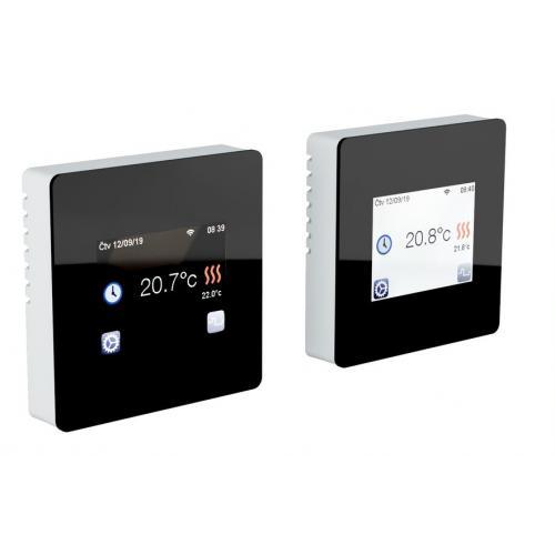 Dotykový termostat TFT wifi černý