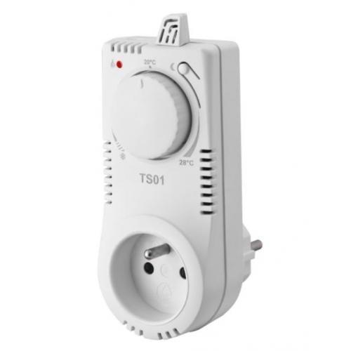 Zásuvkový termostat TS01 manuální
